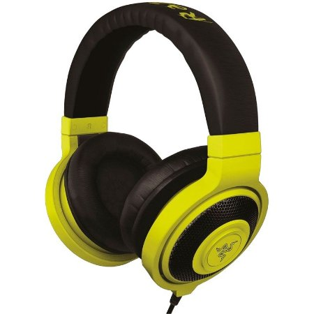 HeadPhone Gamer Razer Kraken Neon Yellow - RZ12-00870600-R3M1
