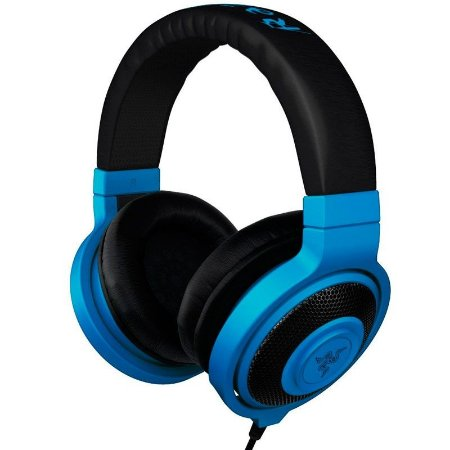 HeadPhone Gamer Razer Kraken Neon Blue - RZ12-00870400-R3M1