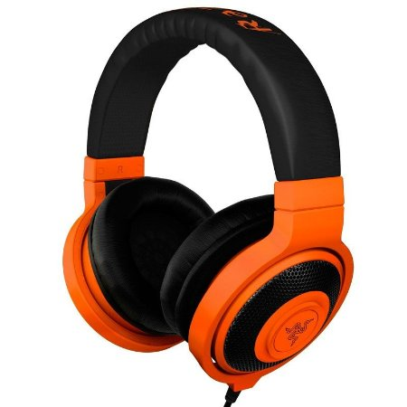 HeadPhone Gamer Razer Kraken Neon Orange - RZ12-00870700-R3M1