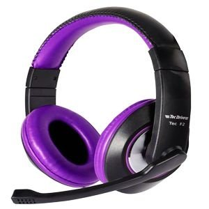 HeadSet Gamer TecDrive Xfire TEC-F2 Purple