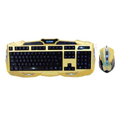 Kit Teclado e Mouse Gamer V-100 BlackLight