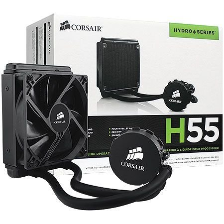 Cooler para CPU Gamer Corsair - Hydro Series H55