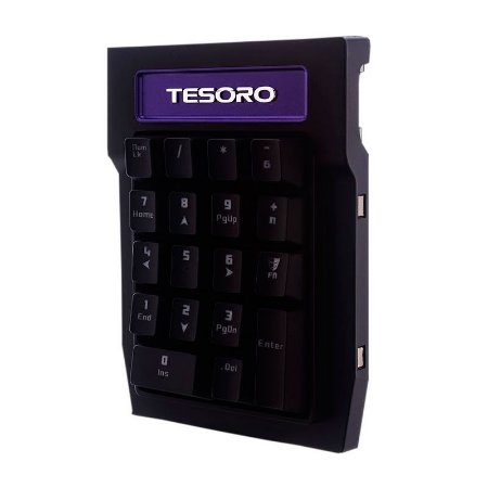 Teclado Numerico Gamer Tesoro Tizona Switch Brown