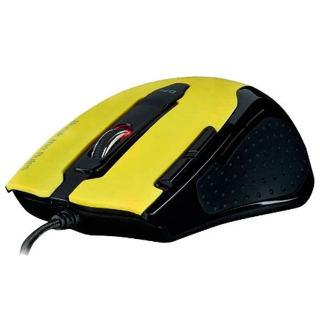 Mouse Gamer Tesoro Shrike TS-H2L Yellow OUTLET
