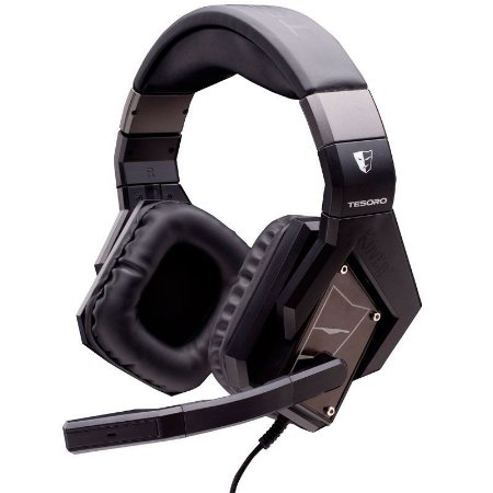 Headset Gamer Tesoro Kuven Devil Black 7.1