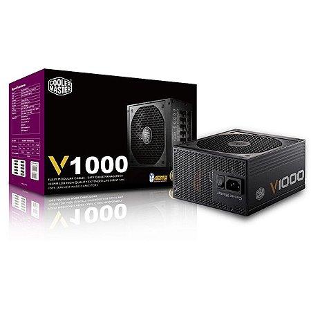 Fonte Gamer Cooler Master V1000 rsa00-afbag1-wo