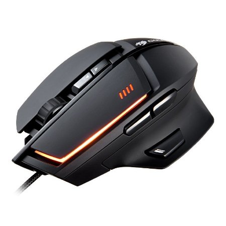 Mouse Gamer Cougar 600M Black - 8200DPI-600MB