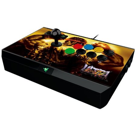 Joystick Gamer Razer Atrox Arcade Stick for Xbox 360 Ultra SFIV Collector Edition - RZ06-007300400-R31