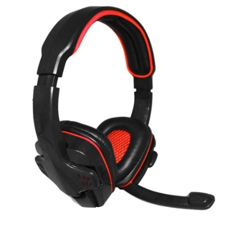 Headset Gamer Knup KP-357 USB Vermelho