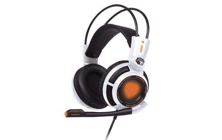 Headset Gamer OEX Extremor 7.1 Branco HS-400