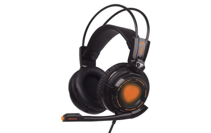Headset Gamer OEX Extremor  7.1 Preto HS-400