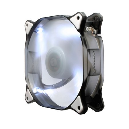 Fan Gamer Cougar 12Cm LED Fan White