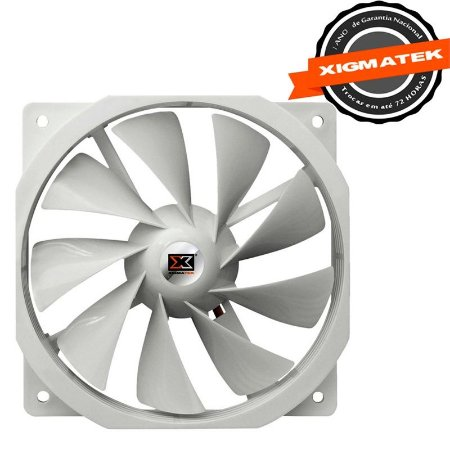 Fan Gamer Xigmatek 120mm (XOF-F1251) White