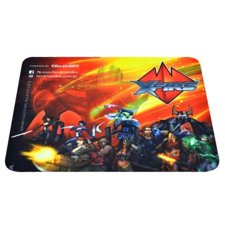 Mouse Pad Gamer TecDrive  XFire Heroes