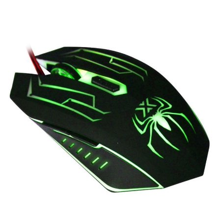Mouse Gamer Infokit  X Spider GM-210  Preto 3000 DPI
