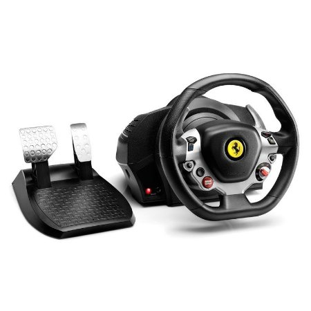 Volante Gamer Thrustmaster TX Racing Wheel Ferrari 458  Xbox One e PC
