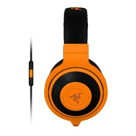 Headset Gamer Razer Kraken Pro Neon Orange Mobile - RZ04-01400400-R3U1