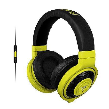 Headset Gamer Razer Kraken Pro Neon Yellow Mobile - RZ04-01400200-R3U1