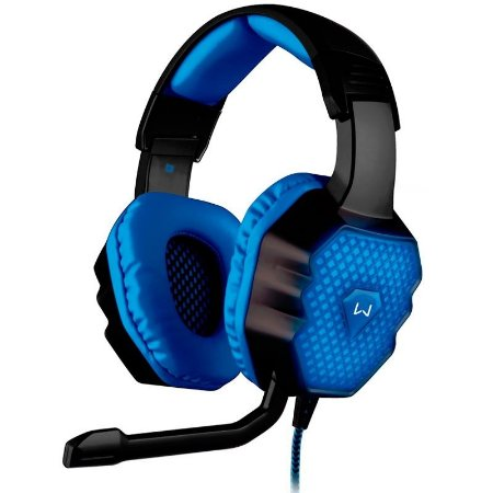 Headset Gamer Mulsilaser Warrior 7.1 3D PH 121 USB