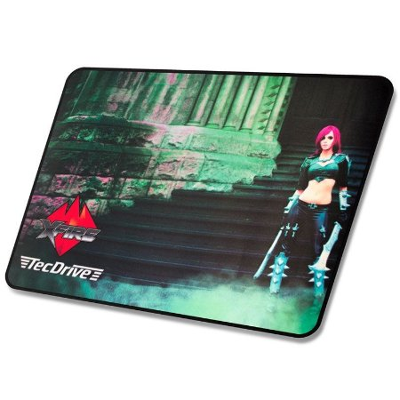 Mouse Pad Gamer TecDrive Xfire Princesa do Castelo Speed