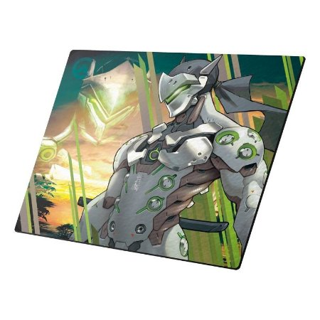 Mousepad Gamer Overwatch Genji Pequeno - DTN-MNI205230-1016