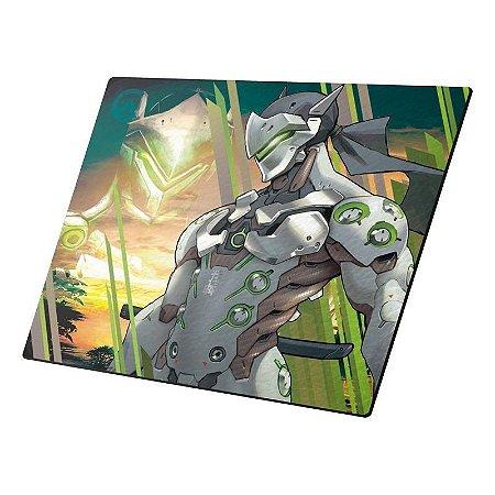 Mousepad Gamer Overwatch Genji Pequeno - DTN-MNI205230-1016