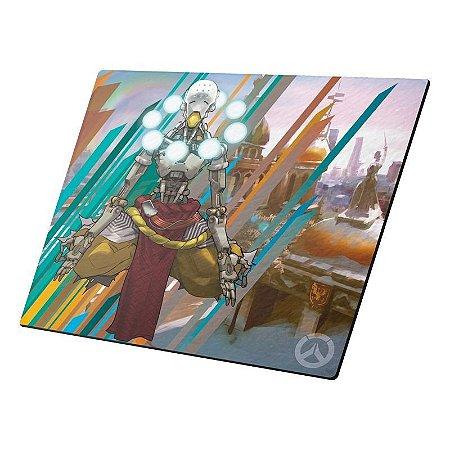 Mousepad Gamer Overwatch Zenyatta Pequeno - DTN-MNI205230-1017