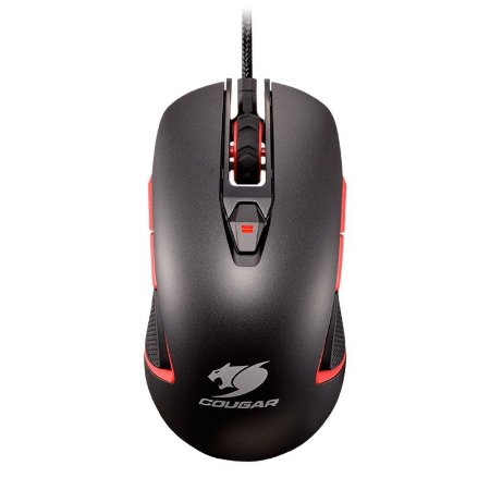 Mouse Gamer Cougar 400M Iron-Grey Edition - 4000 DPI RGB