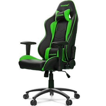 Cadeira Gamer AKRacing Nitro Green - AK-NITRO-GN