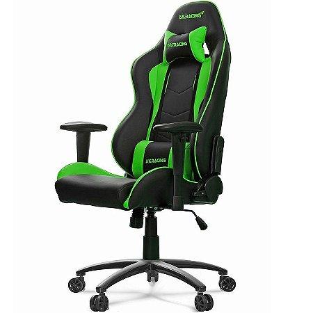Cadeira Gamer AKRacing Nitro Green - AK-NITRO-GN