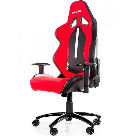 Cadeira Gamer AKRacing Limited Edition Black White Red - ML-1168
