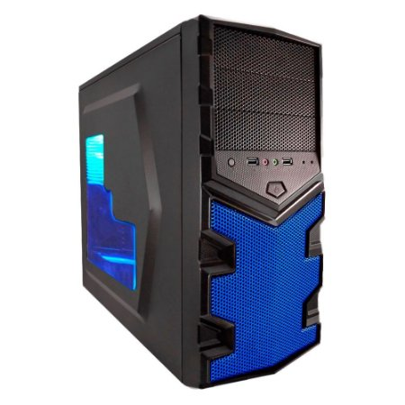 PC Gamer G-FIRE Icarus K, AMD A8 7600, 8GB RAM, 500GB HD, DVD-RW, HDMI, USB 3.0, PV RADEON R7 Series 2GB