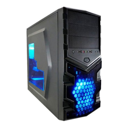 PC Gamer G-FIRE Chimera DiY-B, AMD FX8320E Personalizável, 8GB, 1TB, DVD-RW, Fonte 430W EVGA 80+