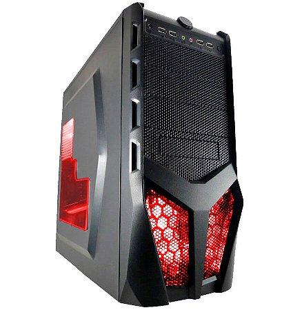 PC Gamer G-FIRE Cerberus KXL, AMD A10 7860K, 8GB 2133MHz, 1TB HD, DVD-RW, HDMI, PV Radeon R7 2GB