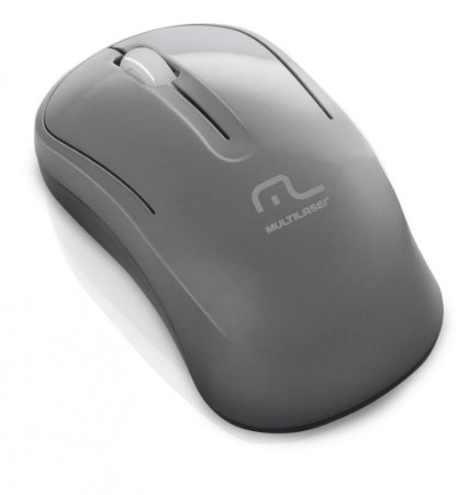 Multilaser Mouse Wireless 2.4GHz Eco Grafite MO174 USB