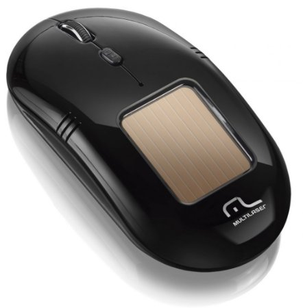 Multilaser Mouse Solar Laser USB sem Fio MO199 Preto