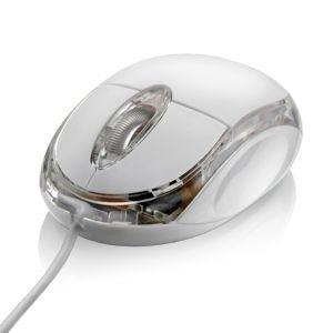 Mouse Multilaser Óptico Gelo USB MO034