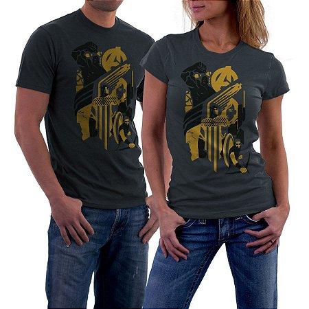 Camiseta Heroes Assemble - DTONA STORE