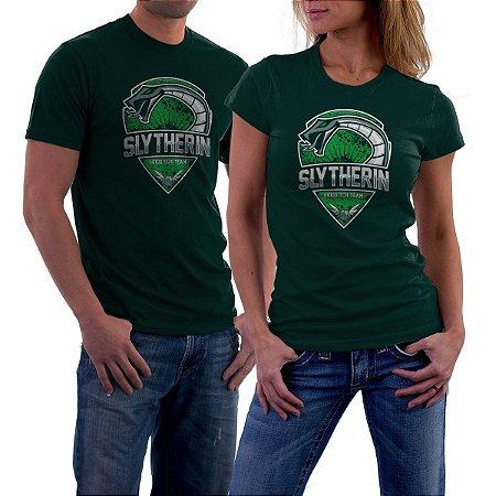 Camiseta Escola de Magia  Slytherin