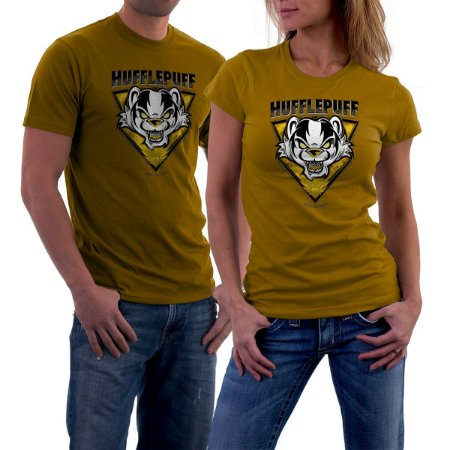 Camiseta Escola de Magia - Hufflepuff