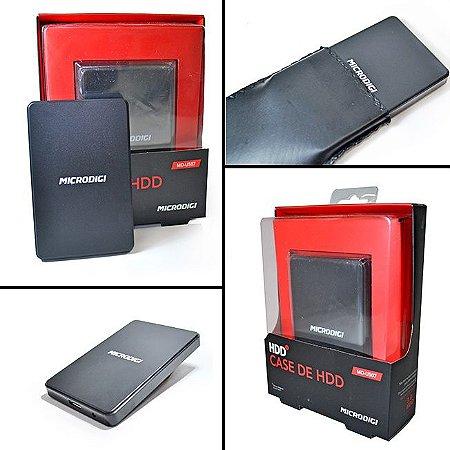 Case para HD de NootBook USB 3.0 Microdigi U507