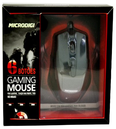 Mouse Gamer Microdigi MD-MS683