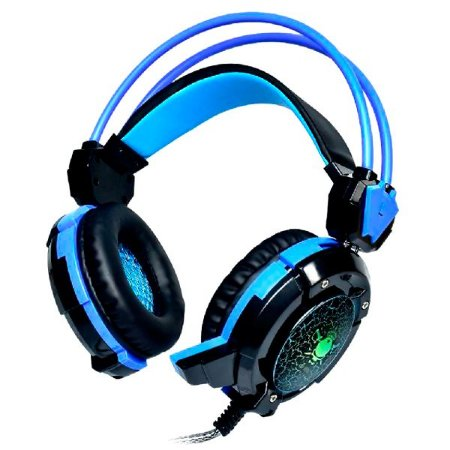 HEADSET GAMER USB/P2 COM LED GH-X30 SUPER BASS BLUE