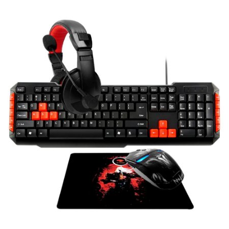 Combo Gamer G-FIRE Teclado, Mouse, Headset, Mouse PAD - KT1427E22214