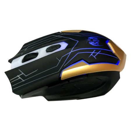 MOUSE GAMING WIRELESS LED 7 BOTÕES 2400 DPI