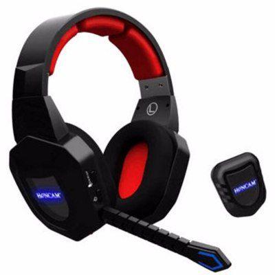 Headset Fone De Ouvido 2.4ghz Sem Fio Para Xbox 360 - Xbox One - Ps3 - Ps4 - Pc - Mac - Hc-S2039