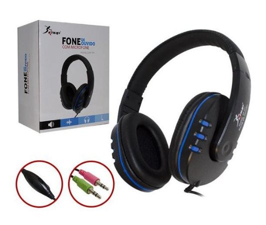 HEADPHONE GAMER COM MICROFONE KP-371