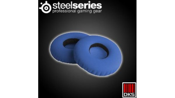 SteelSeries Flux Ear Almofada de pano azul