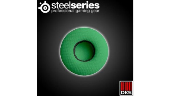 SteelSeries Flux Ear Almofada de pano verde