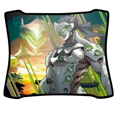 Mouse Pad Gamer Magnum Overwatch Genji Speed Medio
